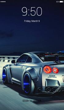 GT-R Lock Screen screenshot 3