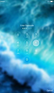 Water Lock Screen apk screenshot
