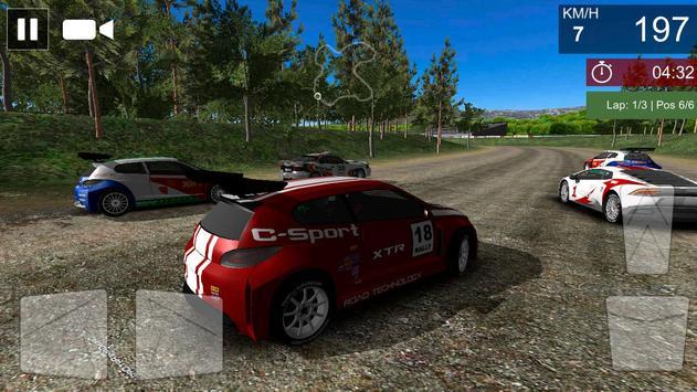 Rally Cross Racing apk screenshot