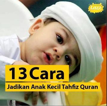 Panduan Hafiz Quran untuk Anak poster