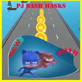 amazing pj cars run masks icon