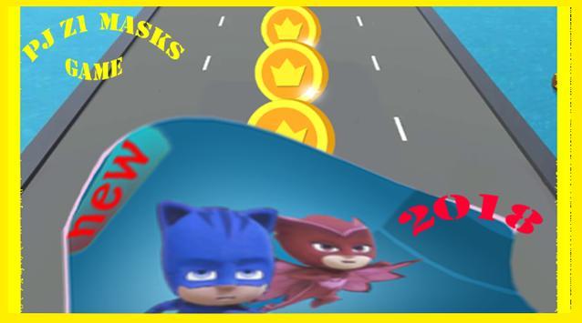 amazing pj cars run masks poster