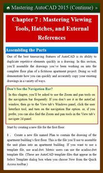Learn Mastering AutoCAD 2015 2 screenshot 3