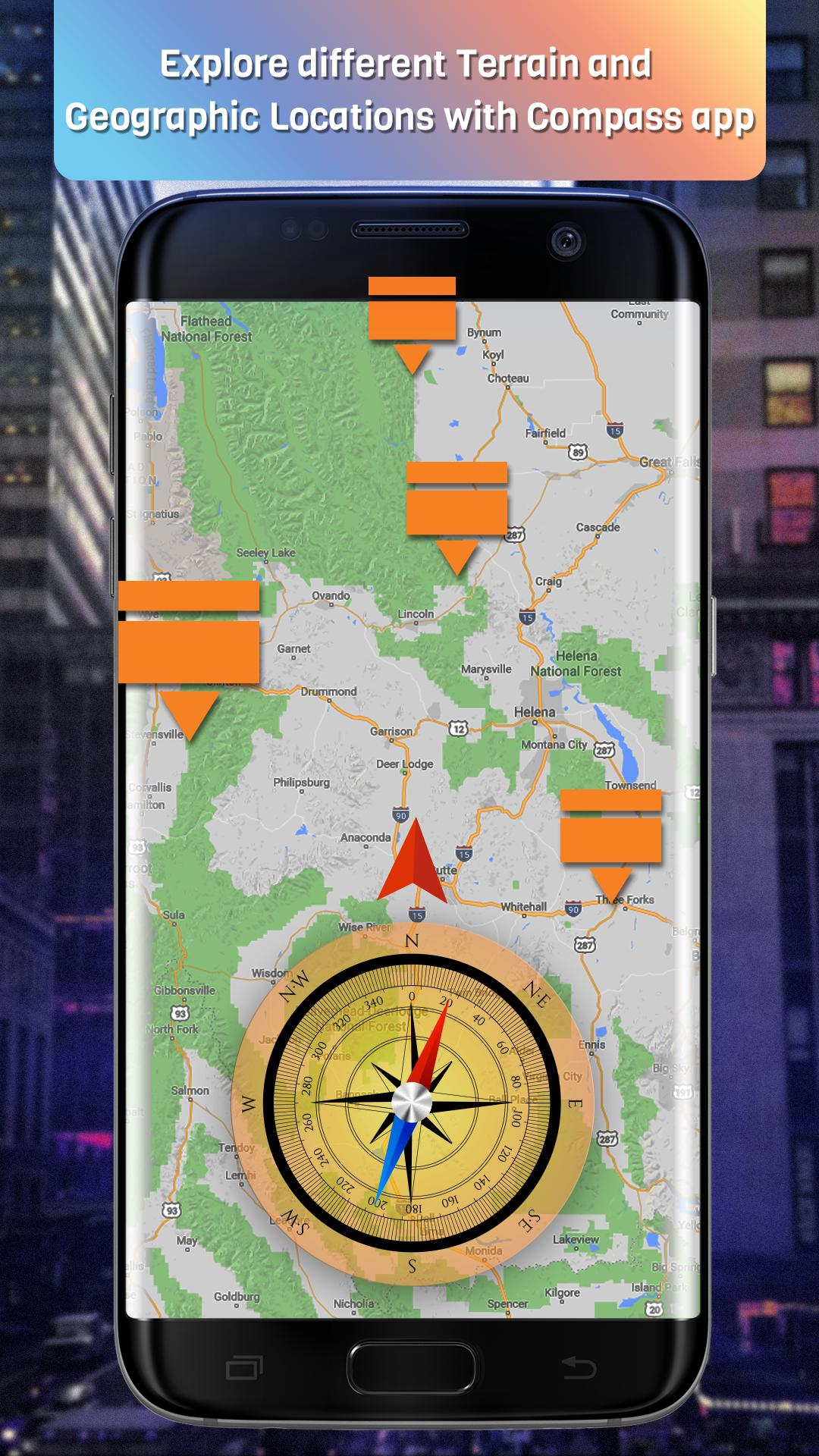 Compass Maps and Directions with Live Google Maps for Android - APK