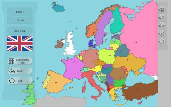 Europe map puzzle free apk download free educational game for europe map puzzle free apk screenshot gumiabroncs Images