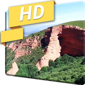 Dron Nature Mountains 3D LWP icon