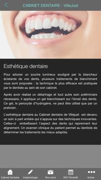 Dentiste Villejust screenshot 2