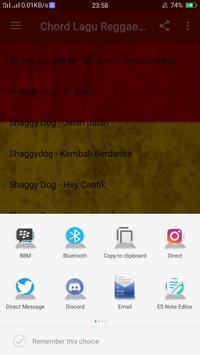Chord Lagu Reggae Offline screenshot 5