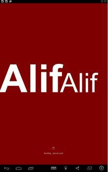 Alif Alif FM Riyadh poster