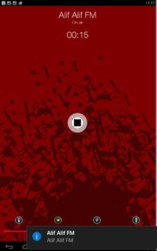Alif Alif FM Riyadh apk screenshot