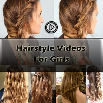 Hairstyle Videos for Girls poster