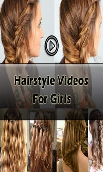 Hairstyle Videos for Girls screenshot 1