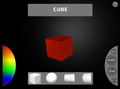 Unity 3d Sample User Interface apk screenshot