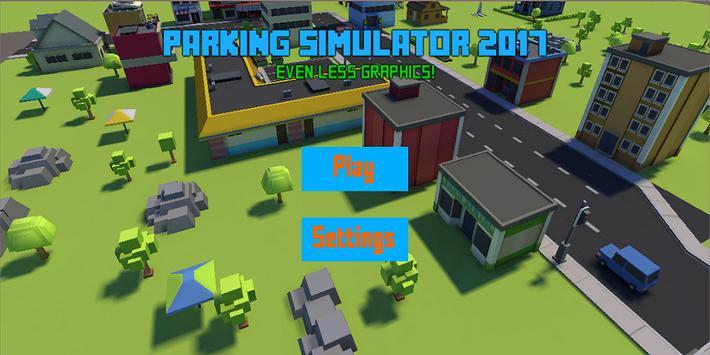 Pixel parking simulator 2017 poster