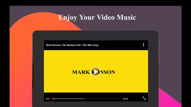 Mark Ronson Songs and Videos apk screenshot