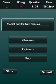 Marketing Finance Quiz screenshot 11