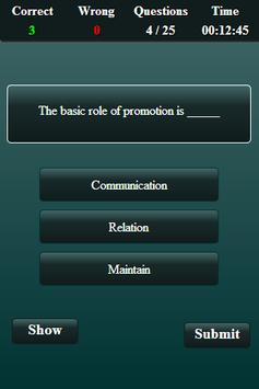 Marketing Finance Quiz screenshot 12