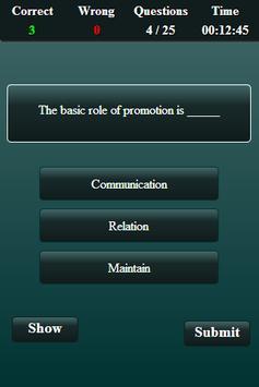 Marketing Finance Quiz screenshot 19