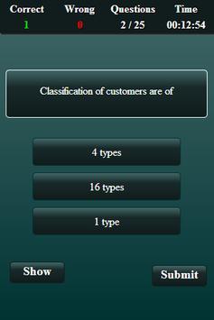 Marketing Finance Quiz screenshot 3