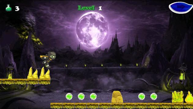 Super Ninja corredor apk screenshot