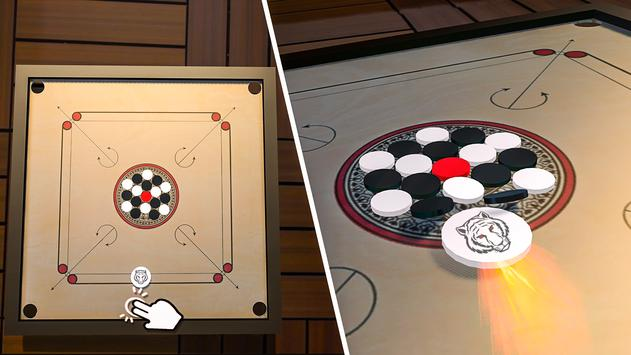 Classic Carrom Board Pro Game स्क्रीनशॉट 5