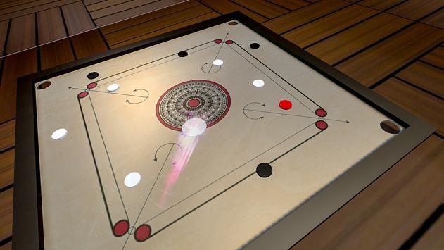 Classic Carrom Board Pro Game screenshot 11