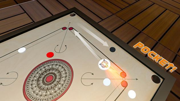 Classic Carrom Board Pro Game screenshot 2