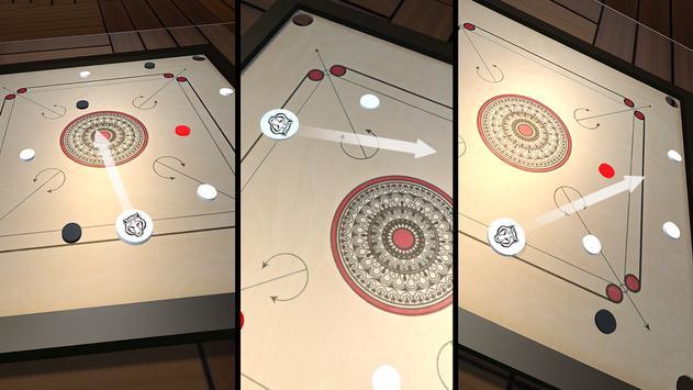 Classic Carrom Board Pro Game screenshot 3