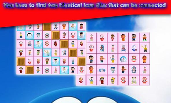 Connect Game - DOremon Match 4 Puzzle FREE apk screenshot