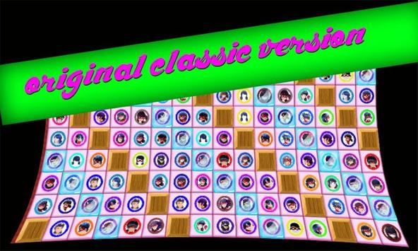 A Style lady Bug match 4 puzzle connect game apk screenshot