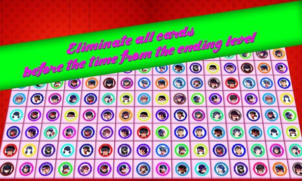 A Style lady Bug match 4 puzzle connect game poster