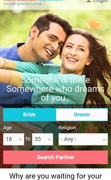Matrimony Matching India screenshot 1