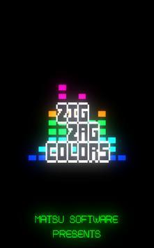 Zig Zag Colors poster
