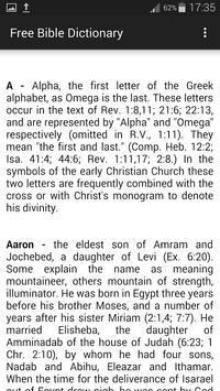 Bible Dictionary screenshot 4