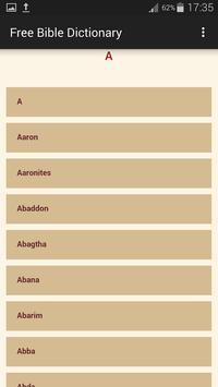 Bible Dictionary screenshot 5