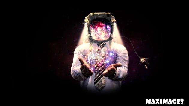 Astronaut Wallpaper Poster Apk Screenshot