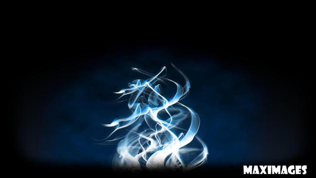 Blue Fire Wallpaper Apk Screenshot