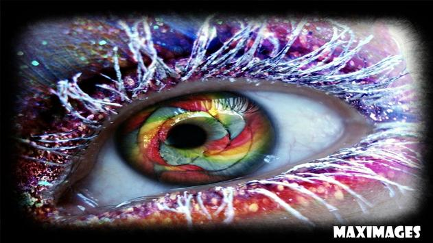 Colorful Eye Wallpaper apk screenshot