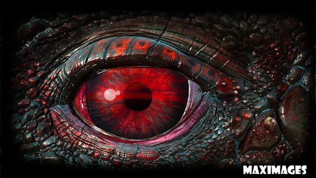 Dragon Eye Wallpaper poster