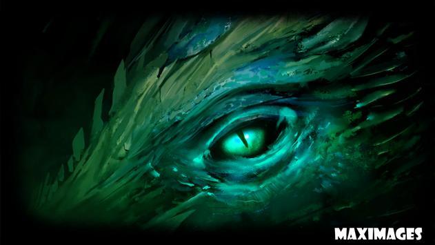 Dragon Eye Wallpaper screenshot 3