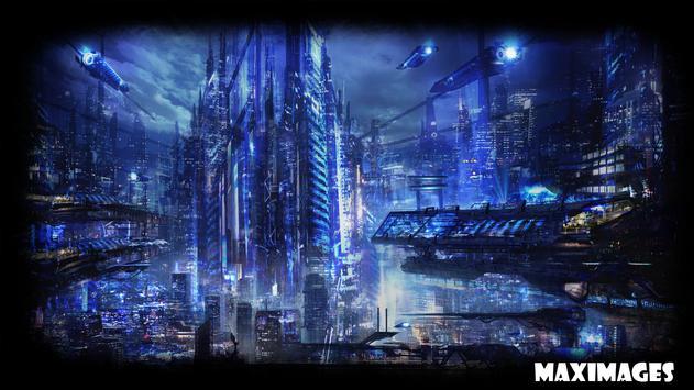 Future City Wallpaper apk screenshot