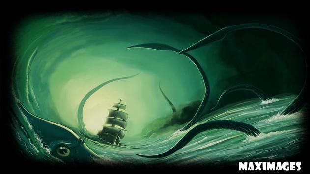 Kraken Wallpaper apk screenshot