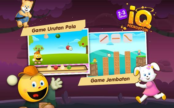 IQ Foundation 2-3 tahun apk screenshot