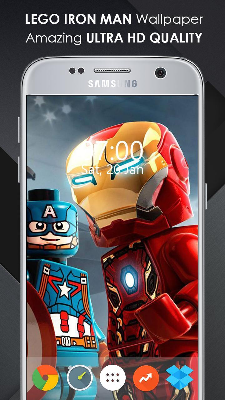 Best LEGO Iron Man Wallpapers & Background 4K HD for Android