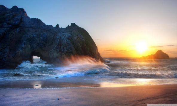 Big Sur Live Wallpaper apk screenshot