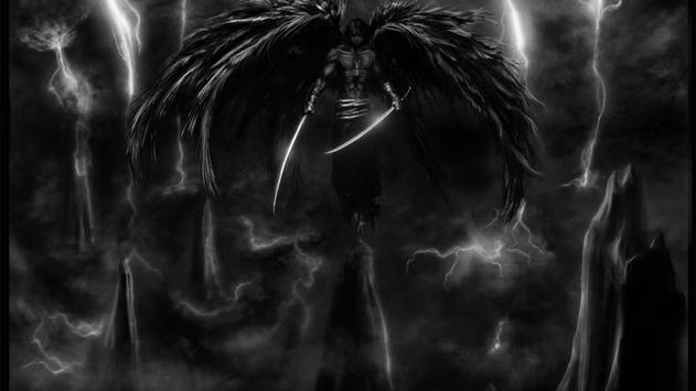 Fallen Angel Live Wallpaper apk screenshot