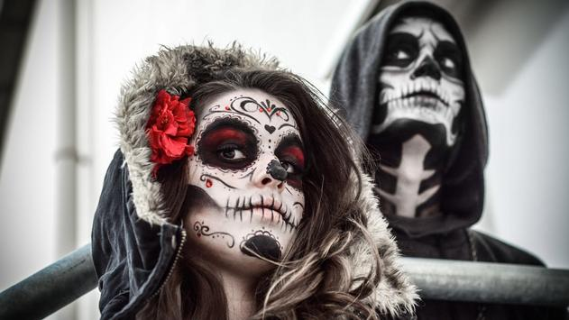 Mexican Skull Live Wallpaper poster