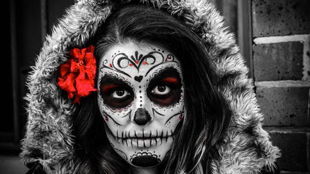Mexican Skull Live Wallpaper apk screenshot