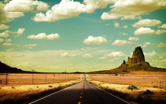 Road Live Wallpaper poster