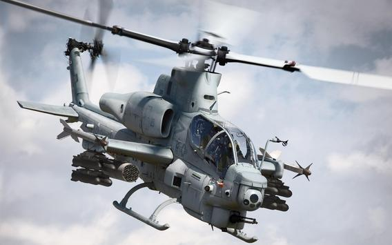 War Helicopter Live Wallpaper apk screenshot